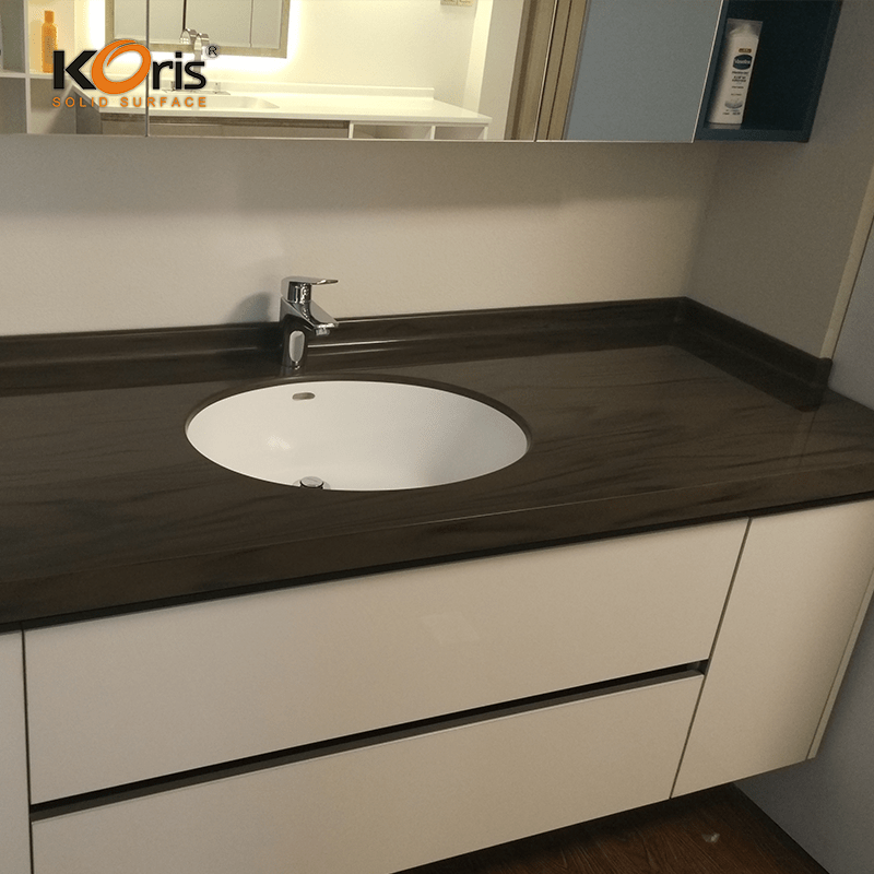 manufacturer direct price artificial solid surface acrylic countertop. Black Bedroom Furniture Sets. Home Design Ideas